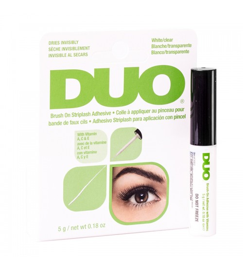 Adeziv DUO Brush-on Strip Lash 5g Transparent