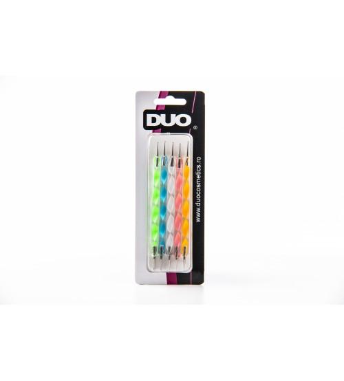 Set 5 punctatoare pentru unghii DUO Art:180004