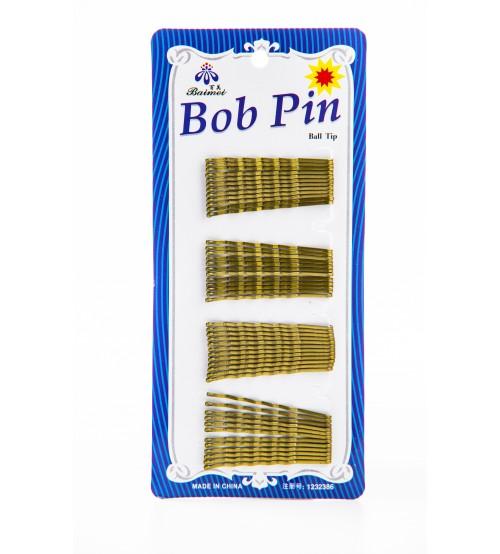 Agrafe Bob Pin auriu marime mica