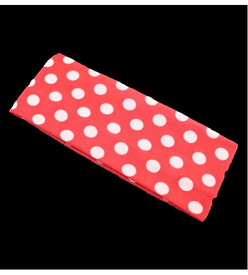 Banderola lata - Rosu buline Albe