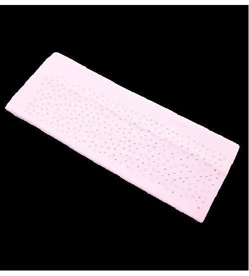 Banderola lata cu pietre - Roz deschis