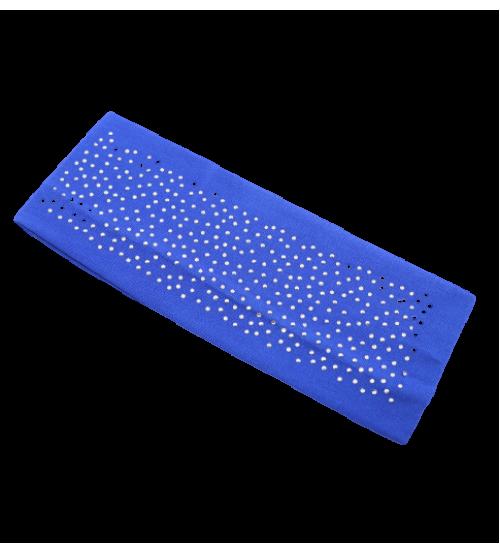Banderola lata cu pietre - Albastru Regal