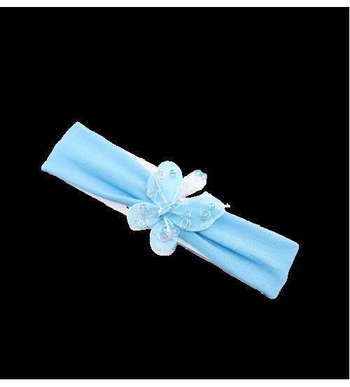 Banderola copii cu Fluture - Albastru