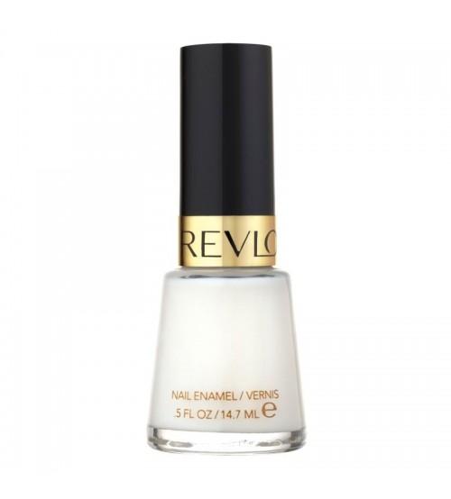 Oja clasica Revlon Enamel 050 White on White