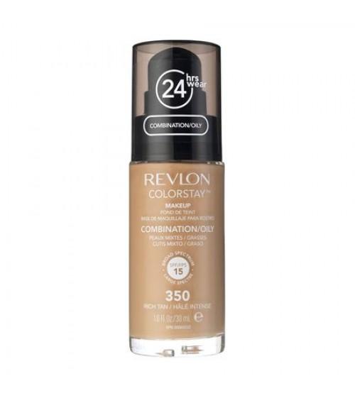 Fond de ten Revlon Colorstay Combination/Oily 350 Rich Tan