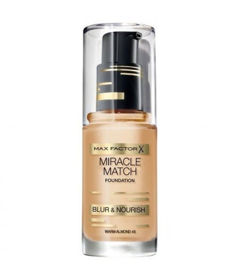 Fond de ten Max Factor Miracle Match 45 Warm Almond