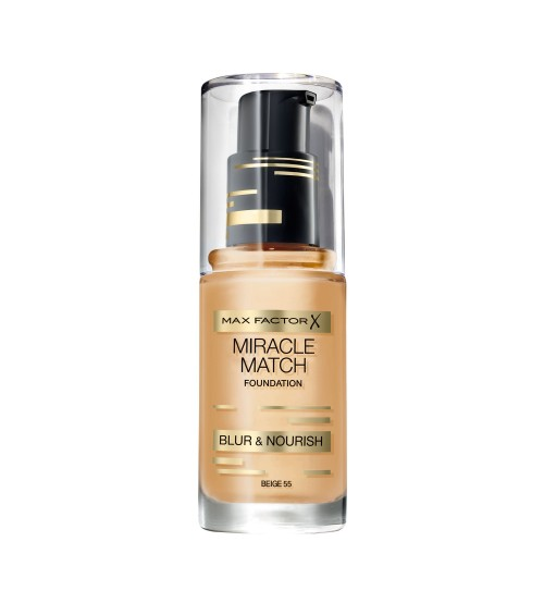 Fond de ten Max Factor Miracle Match 55 Beige