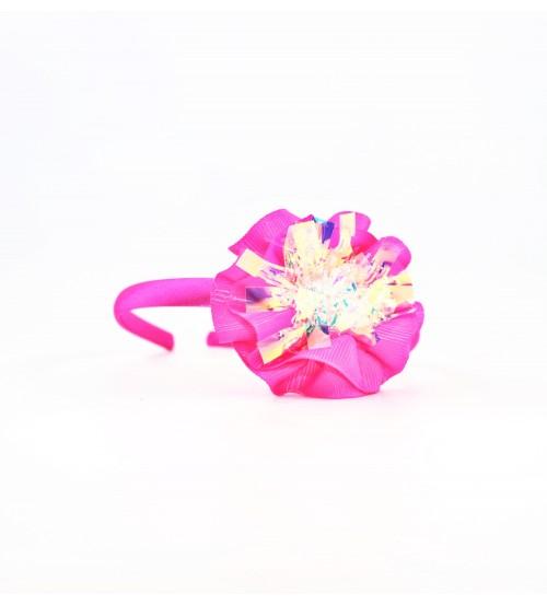 Cordeluta copii #442 aplicatie florala Roz