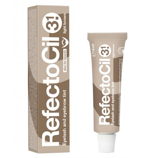 Vopsea sprancene si gene RefectoCil 3.1 Light Brown
