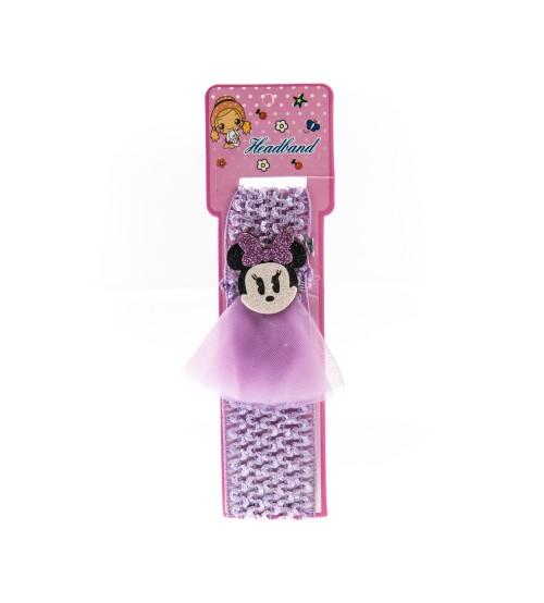 Bentita pentru copii cu aplicatie Minnie Mouse Mov