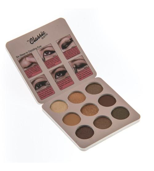 Paleta fard pleoape Classic Queen Pro.Queen 9 cul No.01