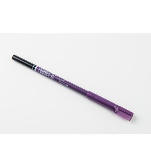 Creion pentru sprancene M.N Mov cu pieptan - 001 Negru