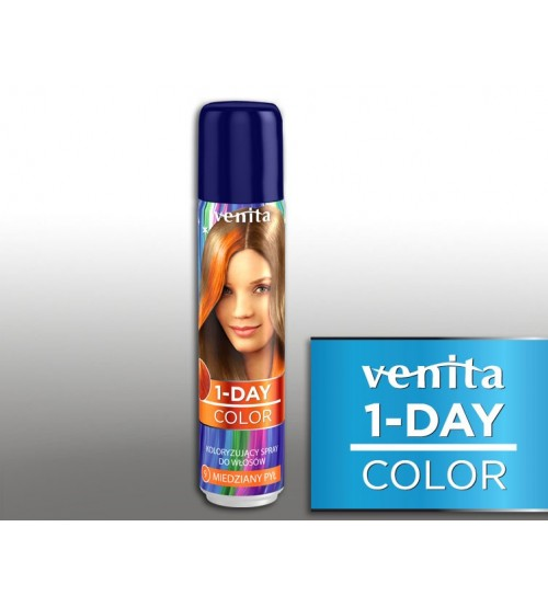 Spray colorant par Venita One Day 9 Portocaliu