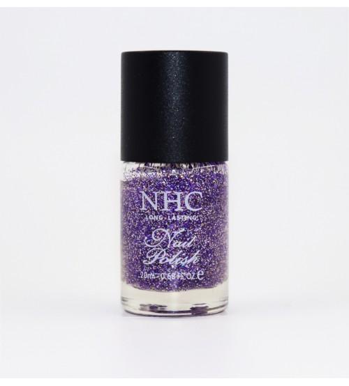 Oja clasica NHC Sclipici Fin - 93 Mov/Argintiu
