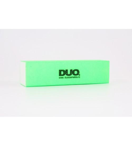 Buffer unghii verde neon DUO