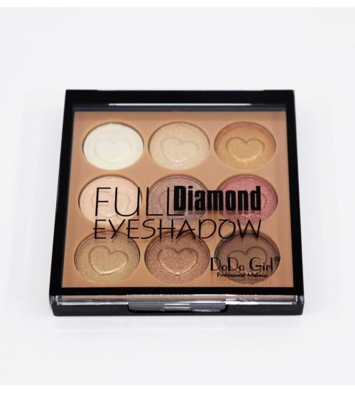 Fard de pleoape Dodo Girl Full Diamond 9 cul - 01