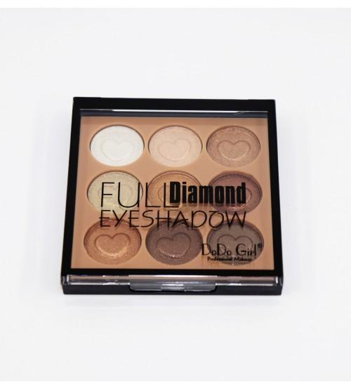Fard de pleoape Dodo Girl Full Diamond 9 cul - 04
